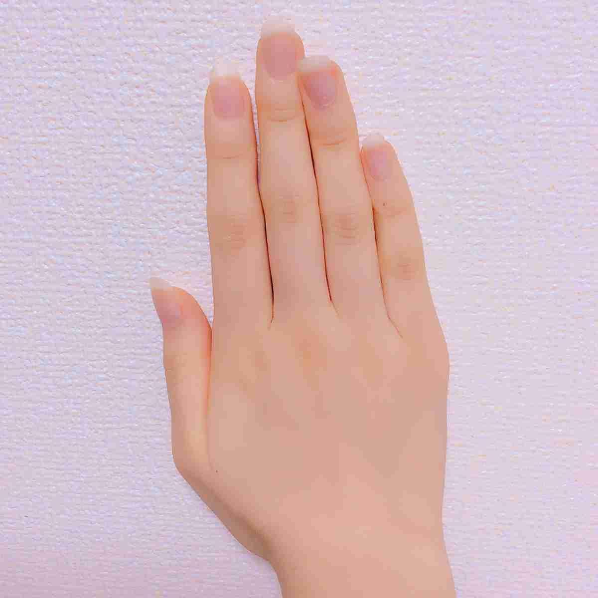 指が細い人!