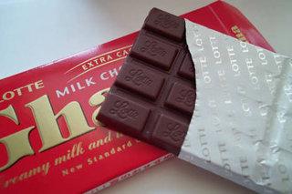チョコレート依存症