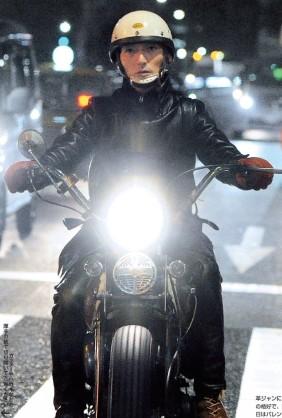 """改造バイクで六本木を爆走 草なぎ剛""""目撃談""""急増の深読み"""
