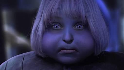 適当にベリーを入れたらホットケーキが紫に…加熱すると青く変色するのが怖い
