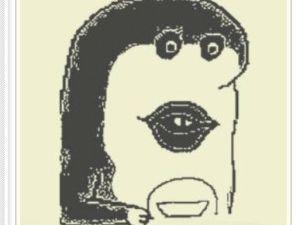 はいだしょうこ画伯、新作「スプー」「どーもくん」「有働アナ」「イノッチ」を発表。どら焼きをキャンバスに
