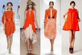 オレンジ色の洋服が似合う人って、どんな人ですか?