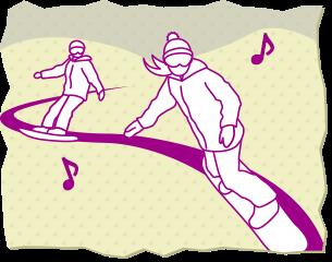 滑ってる人の対処法