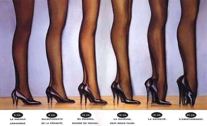 ヒールが高い靴、つらくないですか?