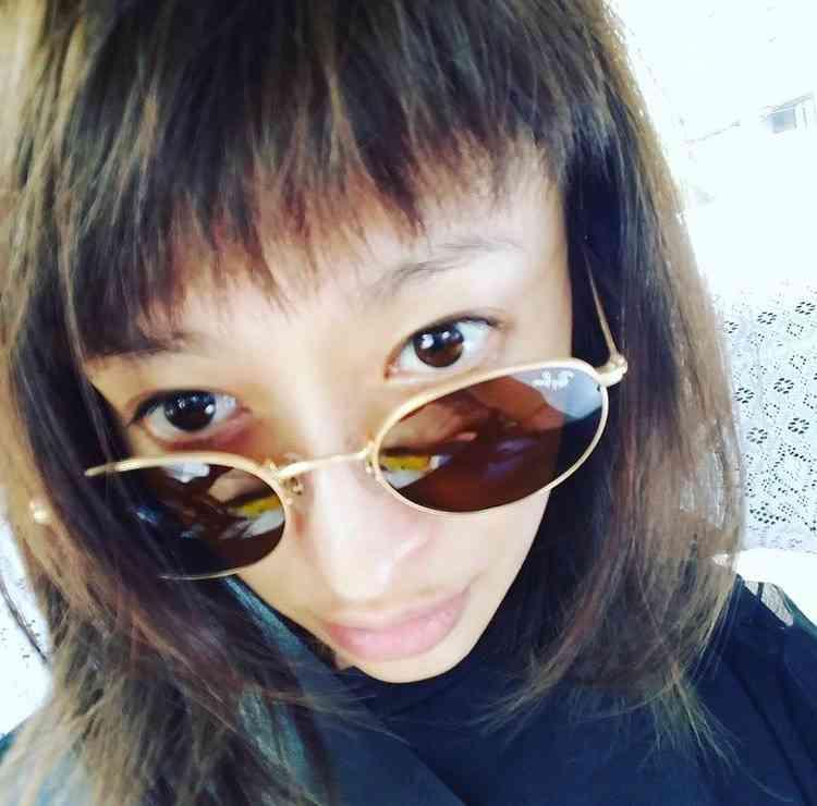 山田優、インスタグラムに載せた写真が