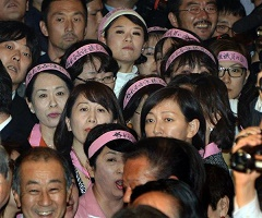 【テロ等準備罪】また出た「女の壁」作戦!民進・芝博一幹事長代理は「足を踏むな」と衛視に逆ギレ