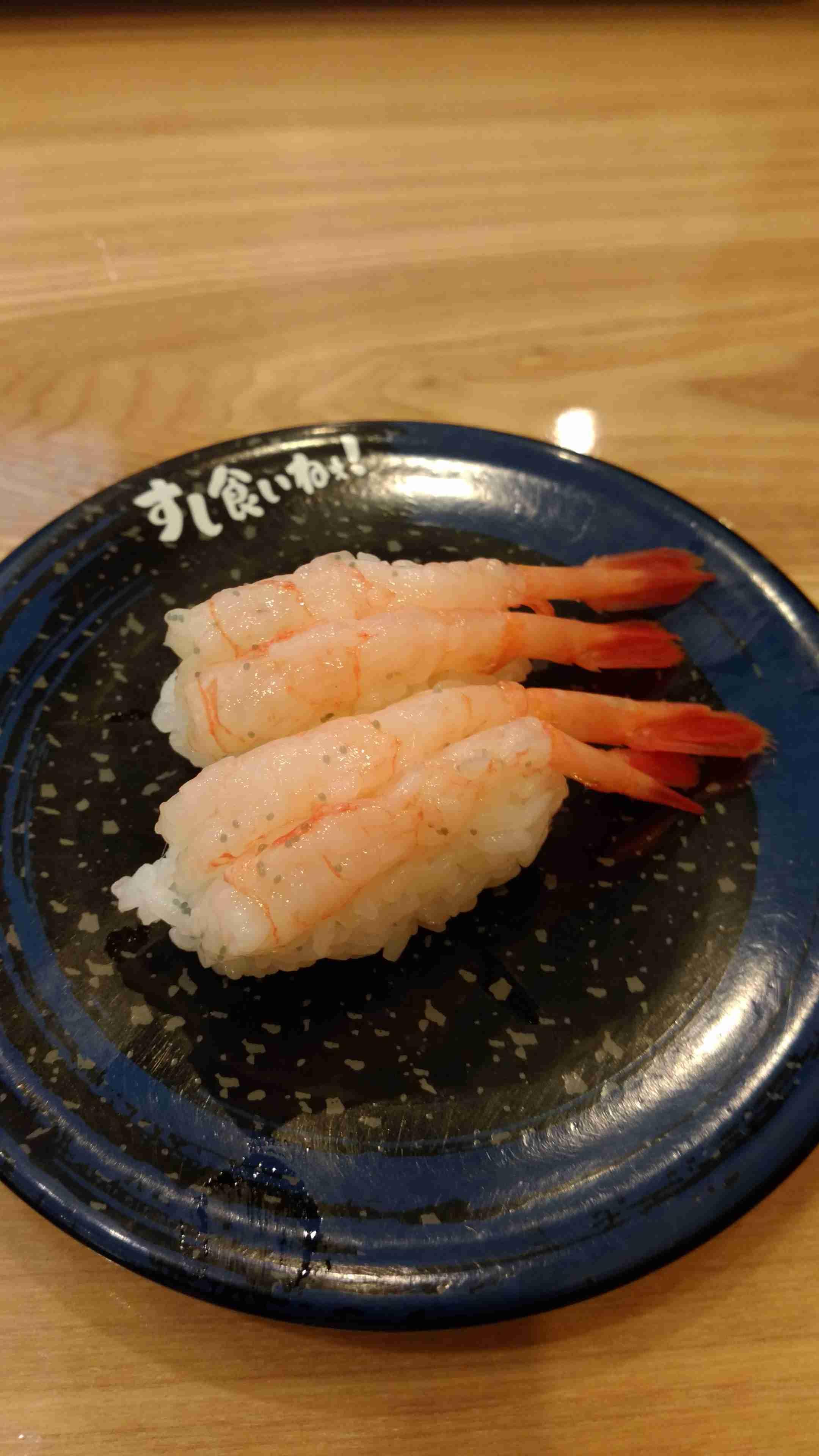 『回転寿司』いつも何皿食べでますか?
