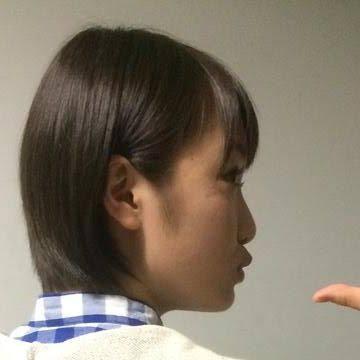 平たい顔族の髪型