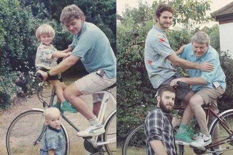 突っ込み所ありすぎ!思わず二度見しちゃう家族写真