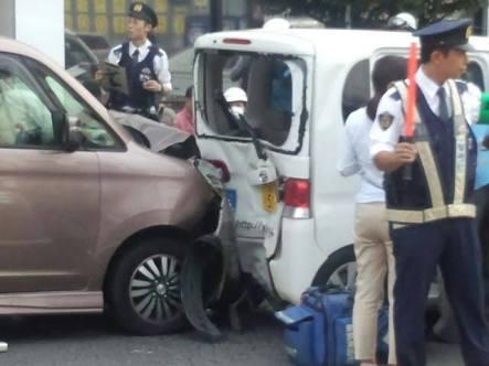 交通事故の被害者になった事がある人!