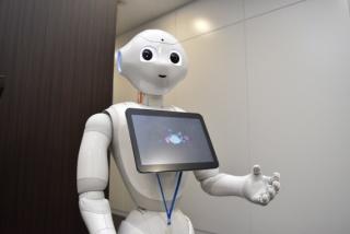 ロボットみたいに話すトピ