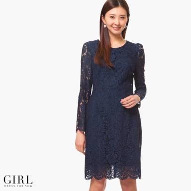 袖のあるドレスが見たい