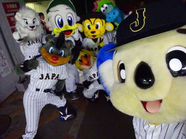 プロ野球のマスコット総選挙
