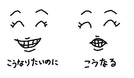 笑顔が不細工で困ってる人はいませんか?