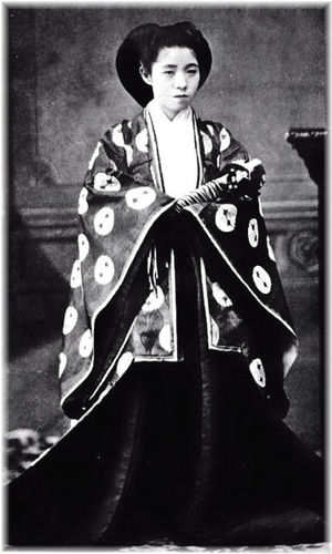 孝明天皇  https//upload.wikimedia.org/wikipedia/commons/6/6b/The_Emperor_Komei