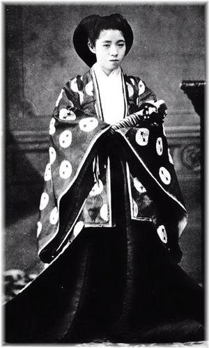 孝明天皇  https//upload.wikimedia.org/wikipedia/commons/6/6b/The_Emperor_Komei