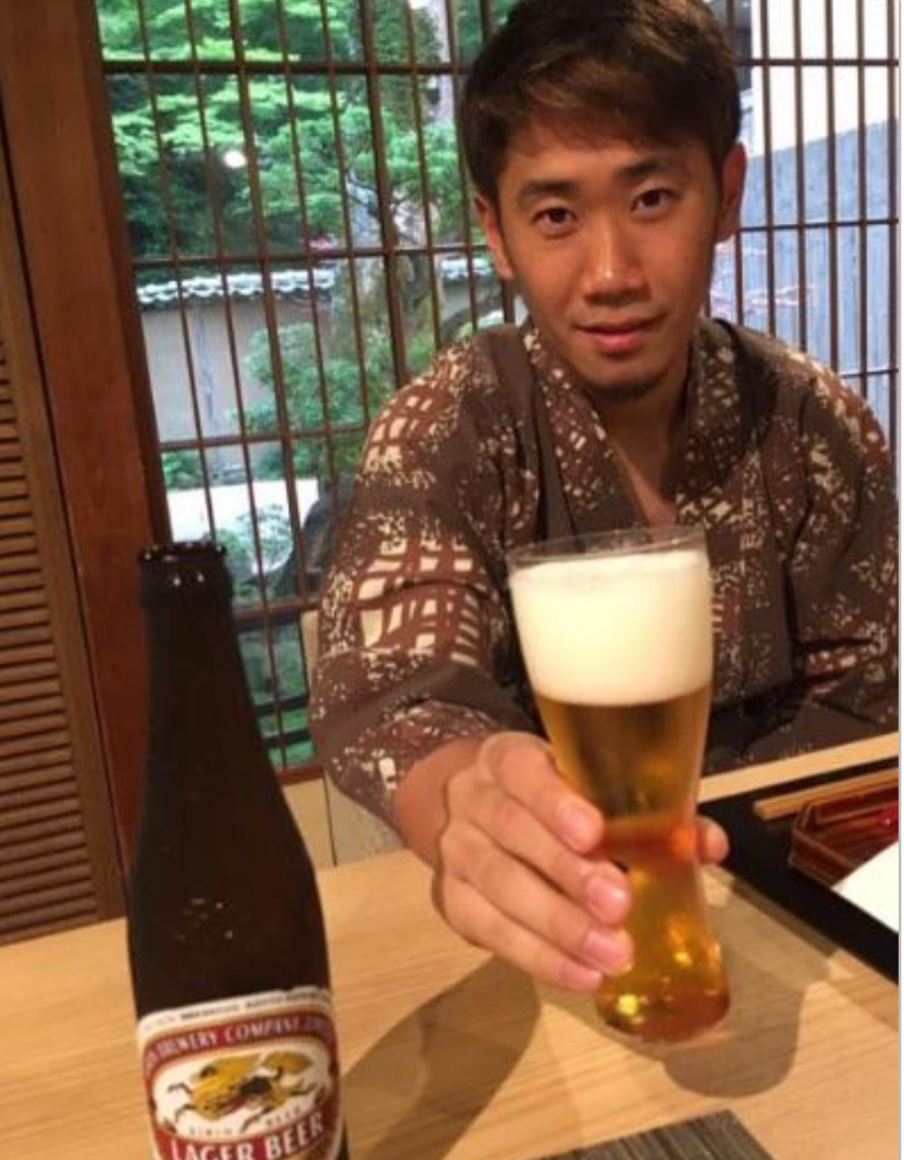 """サッカー香川真司、""""#彼氏とデートなうに使っていいよ""""ブログで公開"""