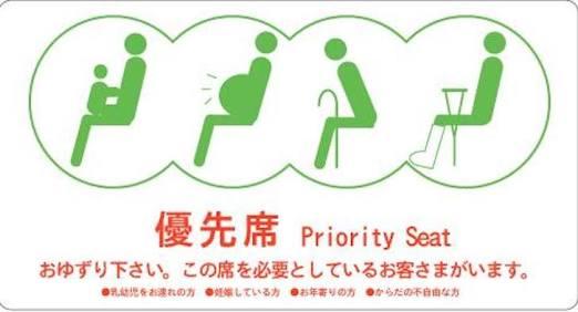この場合、席譲りますか