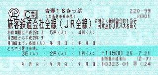 青春18きっぷの旅!