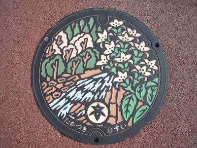 日本各地の「マンホールの蓋」を眺めるトピ♪