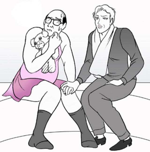 彼氏・旦那が女々しくて女々しくてツライ人