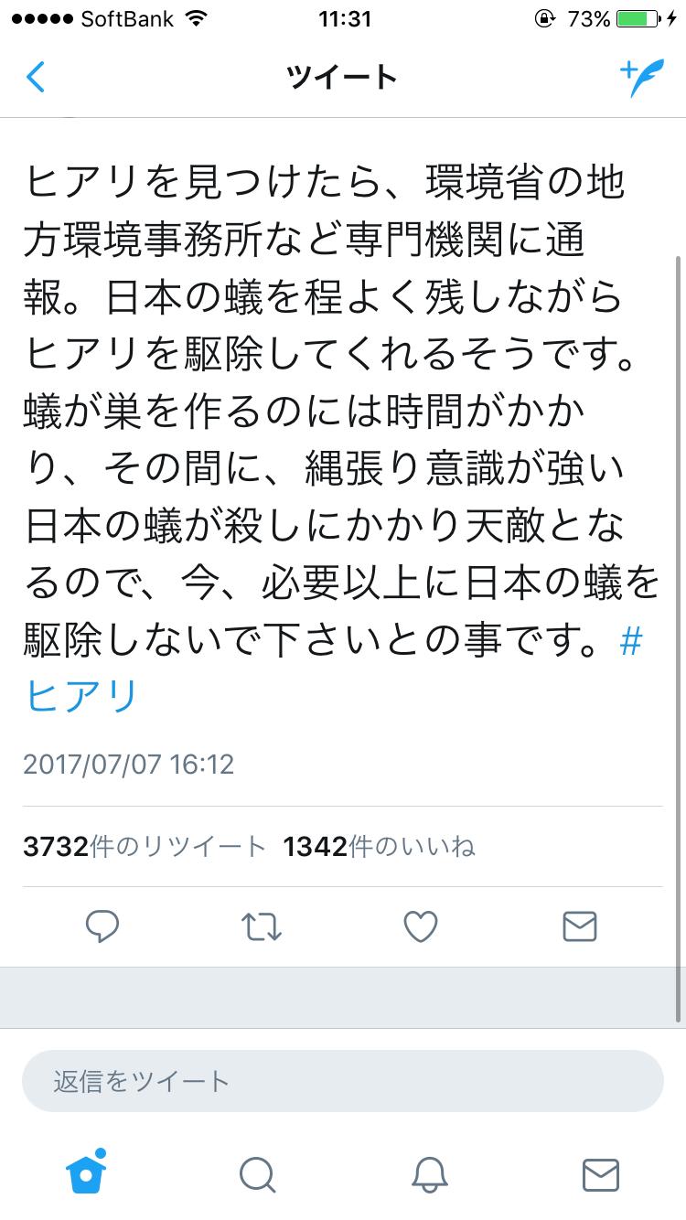愛知・春日井市で「ヒアリ」発見、内陸部で初