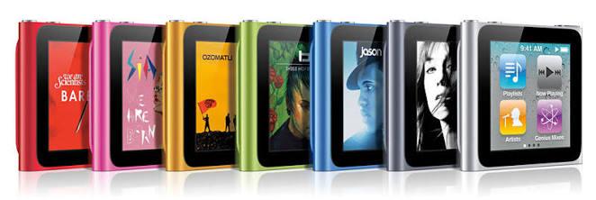 iPod nanoとiPod shuffleが販売終了、アップルのサイトから姿消す