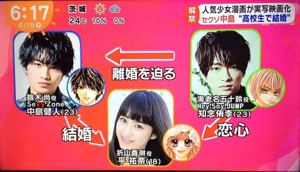 セクゾ中島健人と寛一郎があやしい関係…芳根京子が明かす、2人は手をつないで…