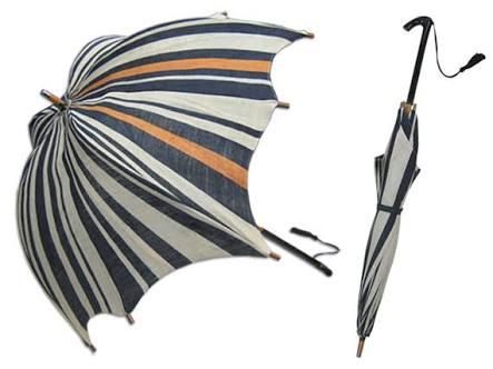 日傘は迷惑ですか?