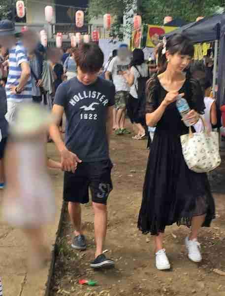 ほしのあきと三浦皇成、不仲説を払拭するお祭りデート撮