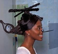 現実では言えない髪型を注文するトピ