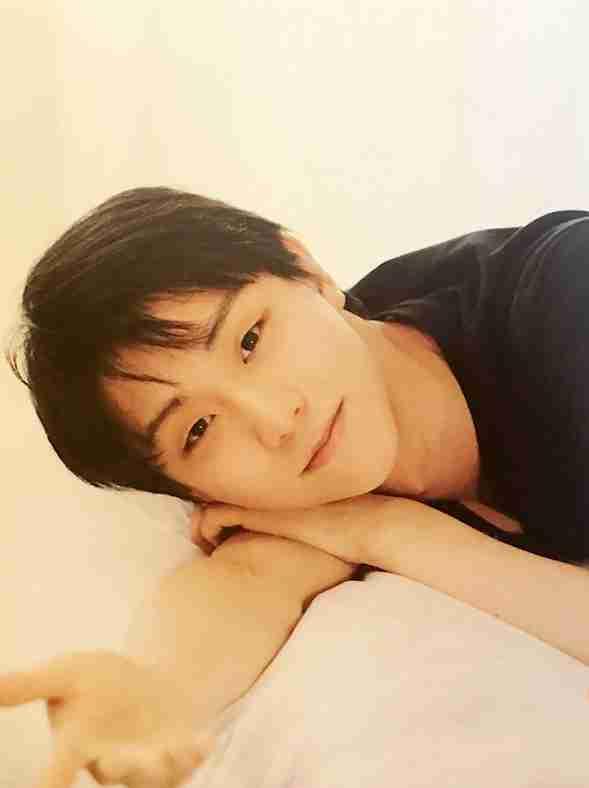 画像に「おやすみ」を付けて気分よく眠りたい