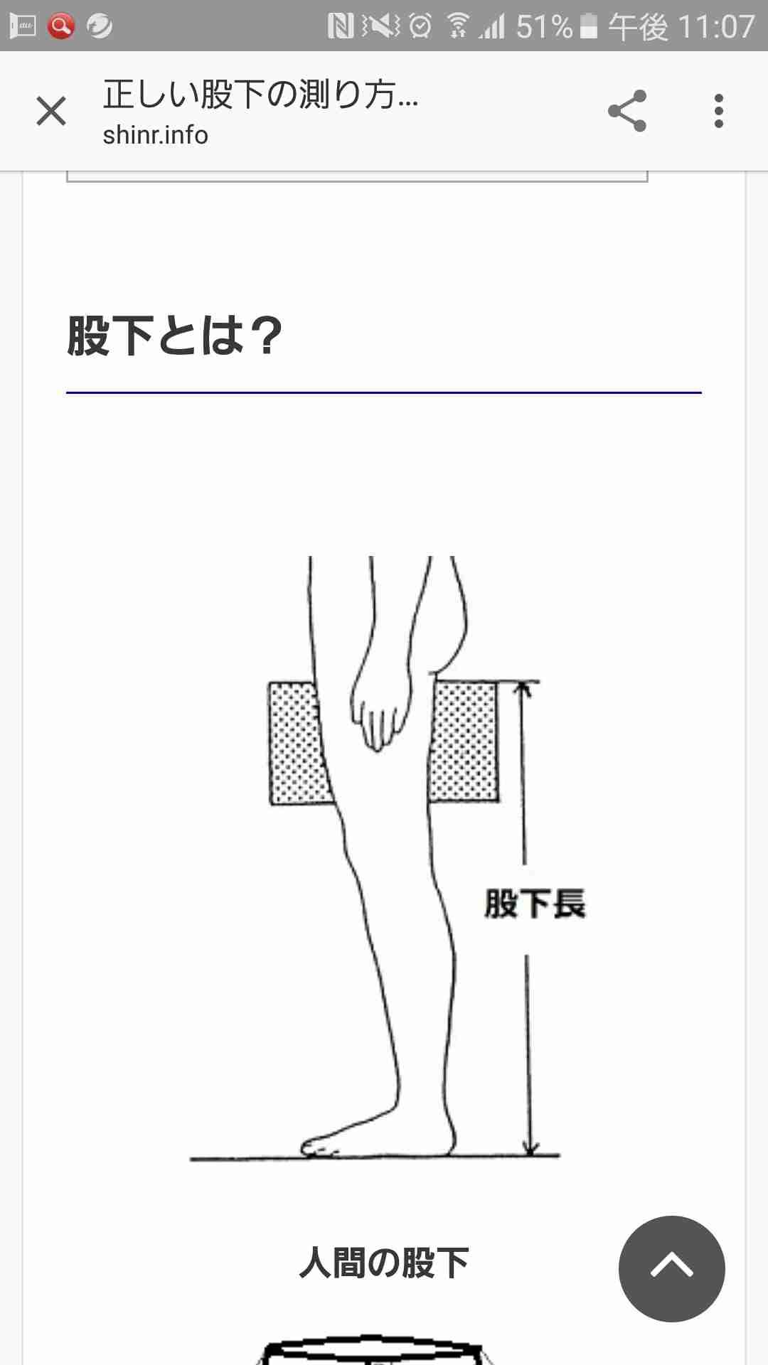 股下何cmですか?