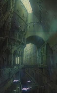 アニメや漫画の中に出てくる絶景を貼るトピ
