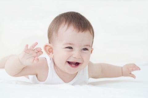 赤ちゃんの頭の歪みについて