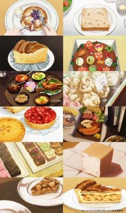 食事が素敵な作品
