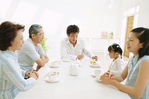 将来、自分の子供夫婦と同居したいですか。