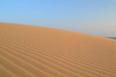 まるでウユニ塩湖→実は「鳥取」です 砂丘の知られざる撮影スポットが美しい