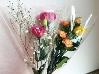 男性から花束貰った事ありますか?