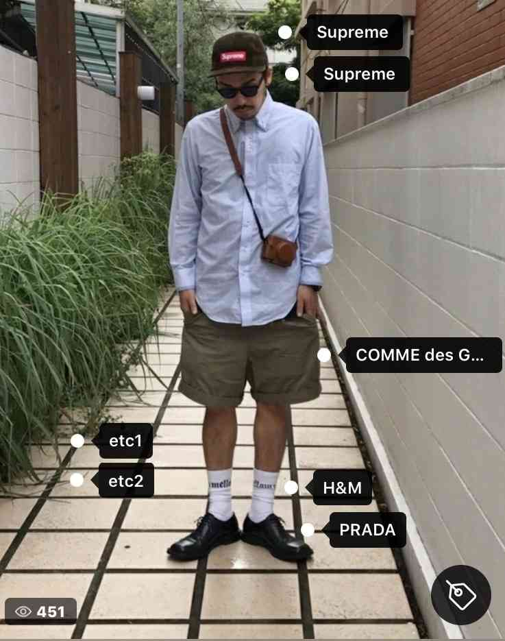 センスのいい男性の服装