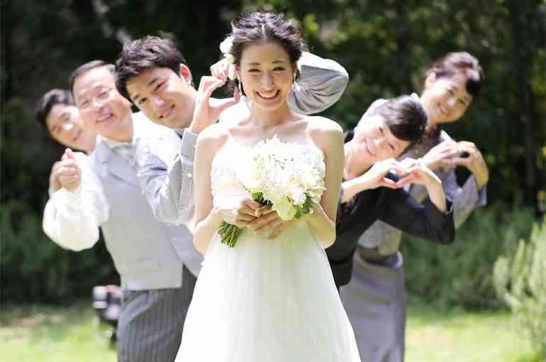 新婦以外知り合いがいない結婚式