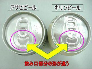 缶から飲むのが苦手な人