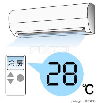 何℃になったら冷房つけますか?