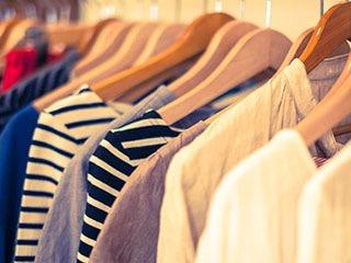 服をあまり買わない人