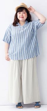 太っている人の夏服