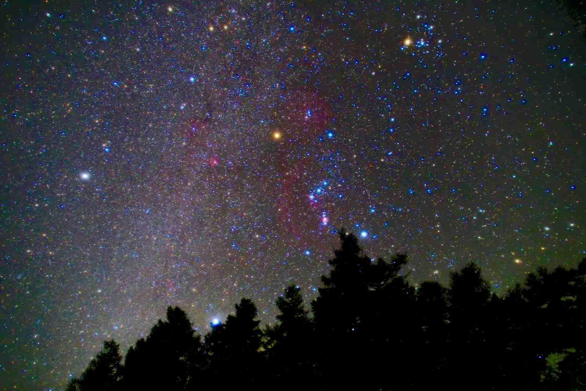 星空に癒されたい
