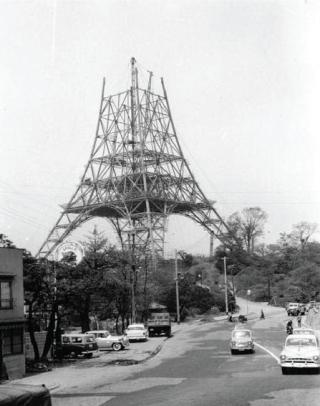 東京タワーの写真を貼るトピ