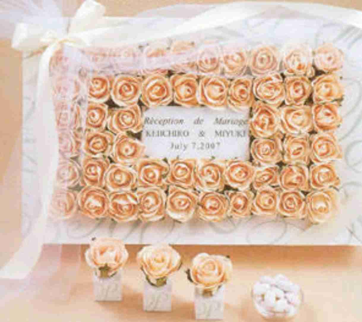 結婚式のウェルカムボードのアイディア