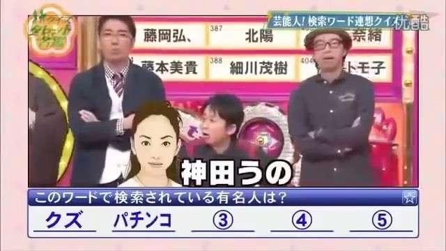 「クイズ☆タレント名鑑」「クイズ☆スター名鑑」を見ていた方