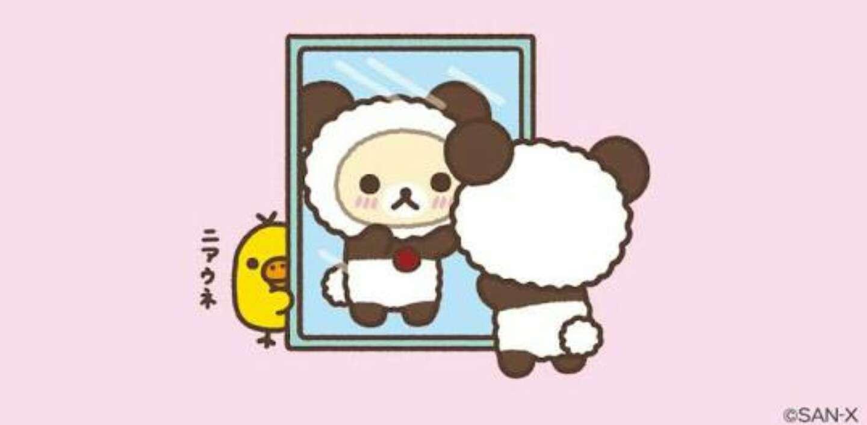 パンダに翻弄されるトピ